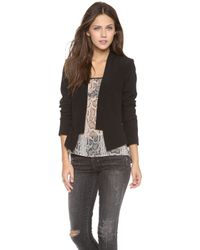 Charlie Jade - Silk Jacket - Black - Lyst