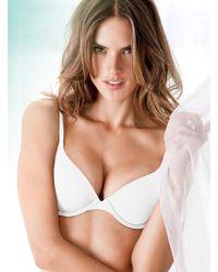 Victoria's Secret White Demi Bra - Lyst