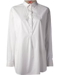 Burberry Brit Cotton Shirt - Lyst