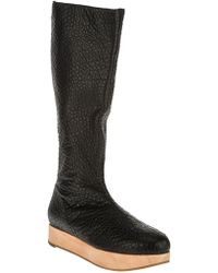 Collection Privée - Platform Knee Length Boot - Lyst