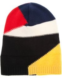 Iceberg - Colour Block Beanie - Lyst