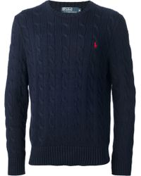 Polo Ralph Lauren - Cable Knit Sweater - Lyst