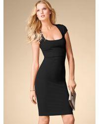 Victoria's Secret Capsleeve Ponte Dress - Lyst