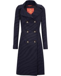 Vivienne Westwood Red Label - Tiger Print Wool and Cashmere Blend Coat - Lyst