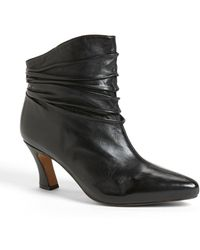 Earthies® Montebello Leather Bootie - Lyst