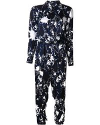 Julien David - Camera Man Print Jumpsuit - Lyst