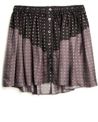 Thakoon Addition | Heart Print Pj Skirt | Lyst