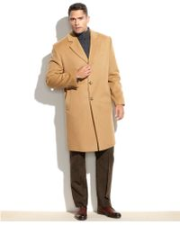 Michael Kors Michael Madison Cashmere-Blend Overcoat - Lyst