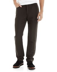 John Varvatos Slim Fit Linenwool Jeans - Lyst