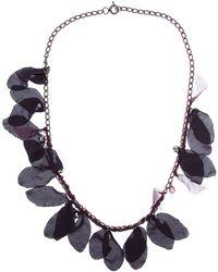 Lanvin Silk Petal Necklace - Lyst