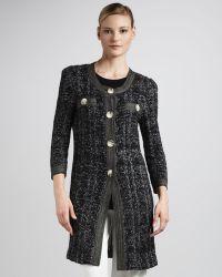 Misook - Long Sweater Coat - Lyst