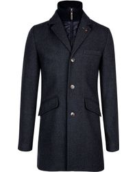 Ted Baker - Fozain Wool Coat - Lyst