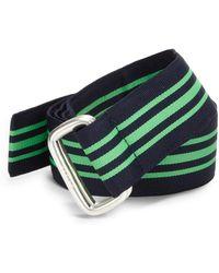 Polo Ralph Lauren Stripe Ribbon Belt - Lyst