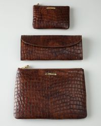 Graphic Image - Brown Croc-Shell Travel Accessories - Lyst