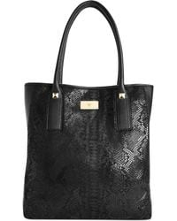Inc International Concepts INC Handbag Rachel North South Leather Tote - Lyst