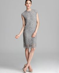 Max Mara Studio Modico Knitted Lace Dress - Lyst