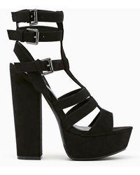 Nasty Gal Shoe Cult Amplify Platform Sandal - Lyst