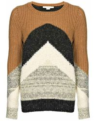 O'2nd - Colour Blocked Jumper - Lyst