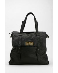Urban Outfitters - Bdg Vegan Leather Turnlock Tote Bag - Lyst