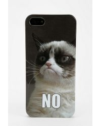 Urban Outfitters - Grumpy Cat Iphone 55s Case - Lyst