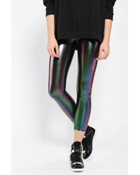 Sparkle & Fade - Rainbow Oil Slick Legging - Lyst