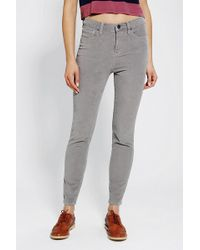 Urban Outfitters - Bdg Twig Highrise Corduroy Pant - Lyst