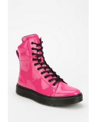 Urban Outfitters - Dr Martens Patent Platform Sneaker-boot - Lyst