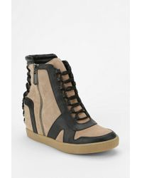 Urban Outfitters - Circus By Sam Edelman Waverly Hidden Wedge Hightop Sneaker - Lyst
