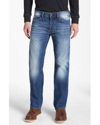 Diesel Larkee Straight Leg Selvedge Jeans - Lyst