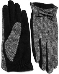 Lauren by Ralph Lauren - Tweed Style Gloves - Lyst