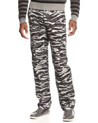 LRG - Core Collection Camo Straight Fit Cargo Pants - Lyst