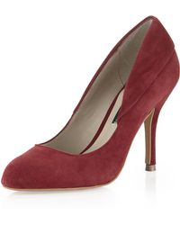 Steven By Steve Madden Distant Suede Pump - Lyst
