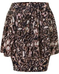 Twenty 8 Twelve Multi Print Skirt - Lyst