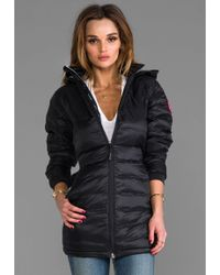 Canada Goose' Camp Hooded Down Jacket Women's, White, L