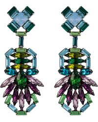 Dannijo Barney Earrings - Lyst