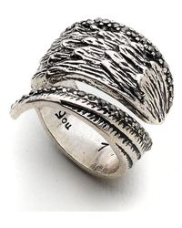 Lucky Brand - Feather Wrap Ring - Lyst