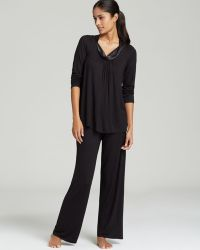 Midnight By Carole Hochman Forever and Always Pajama Set - Lyst