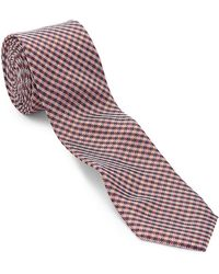 Original Penguin - Checked Silk Tie - Lyst