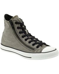 Converse Chuck Taylor All Star Double Zip Hi Vintage - Lyst