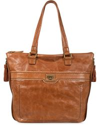 The Sak Huntington Leather Tote Bag - Lyst