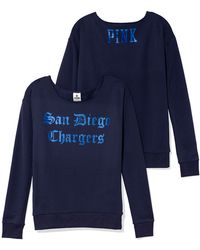 Victoria's Secret San Diego Chargers Slouchy Crew - Lyst