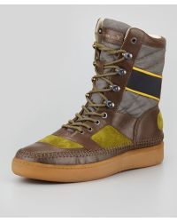 Alexander McQueen X Puma - Joust Boot Green Ash - Lyst