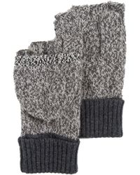 Rag & Bone Claire Fingerless Gloves - Lyst
