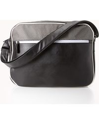 Forever 21 - Faux Leather Messenger Bag - Lyst