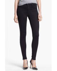 J Brand '485' Mid Rise Super Skinny Jeans - Lyst