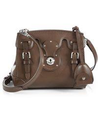 Ralph Lauren Collection Soft Ricky Crossbody Bag - Lyst