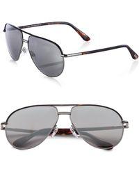 Tom Ford Cole Aviator Sunglasses - Lyst