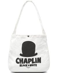 Chocoolate - It Chaplin Print Tote Bag - Lyst