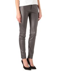 Theyskens' Theory Pohn Leather Trousers - Lyst