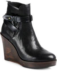 Rag & Bone Emery Wedge Ankle Boots - Lyst